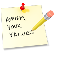 Affirm Your Values