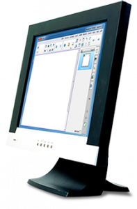 Computer Screen with SMART Notebook