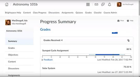 Progress Tool screen capture