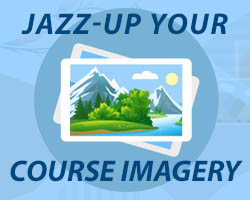 Jazz-Up Your Course Imagery