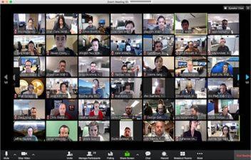 Zoom Meeting Window