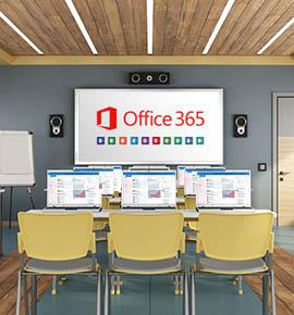 Modern multimedia classroom
