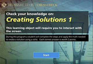 Creating Solutions Screen Capture