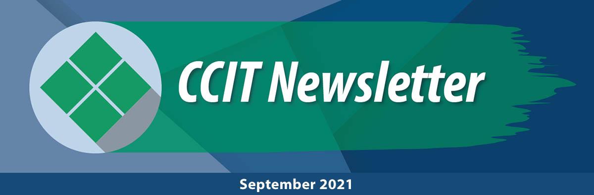 CCIT Newsletter - September 2021